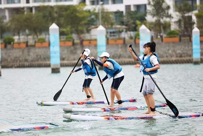青少年也可以玩的水上冲浪!|团建公司,上海众基